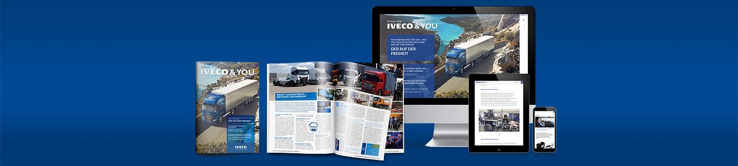 IVECO & YOU Magazin - Ausgabe Oktober 2020